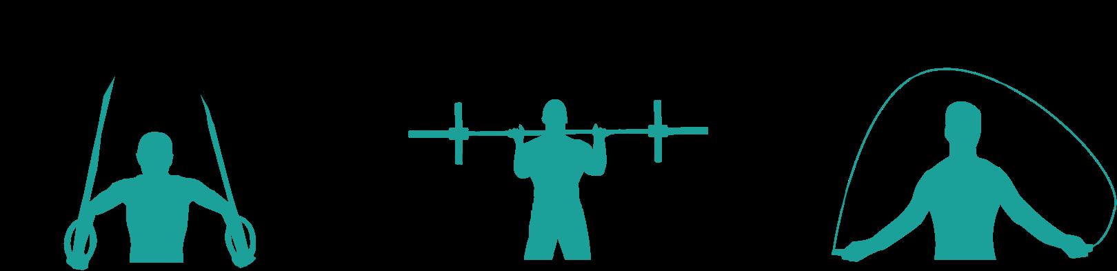 Illustrions pour décrire le CrossFit.